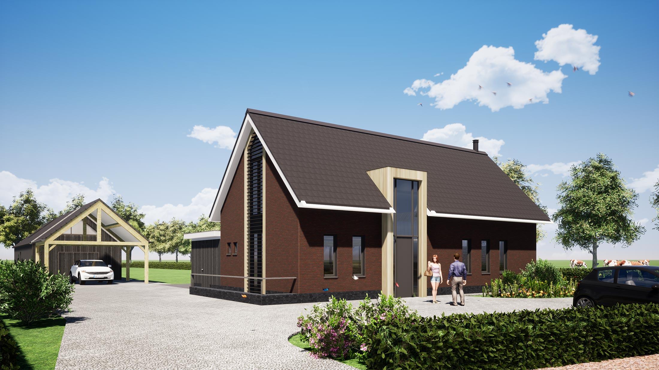 Schijndel Meijldoorn Particulier Woonhuis Nieuwbouw